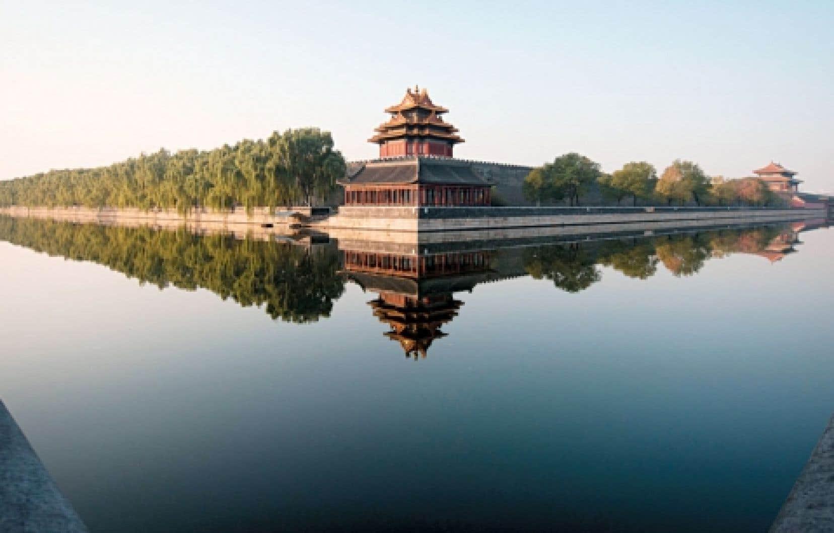 La Cité interdite, à Pékin, représente le symbole par excellence du pouvoir en Chine. Le congrès du PCC se tient près de là.