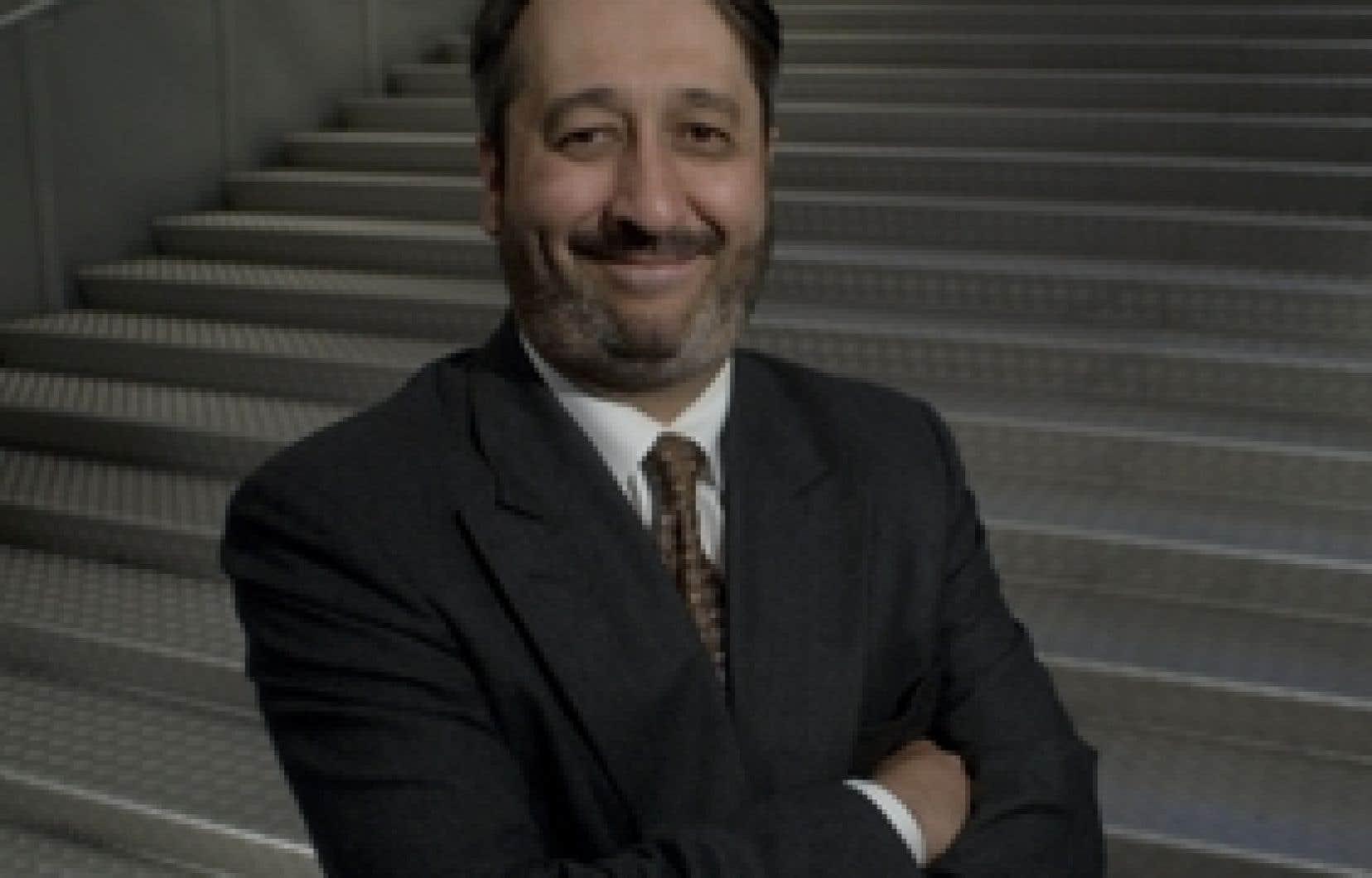Michel Patry est depuis l'année dernière le dixième directeur dans l'histoire de HEC Montréal.