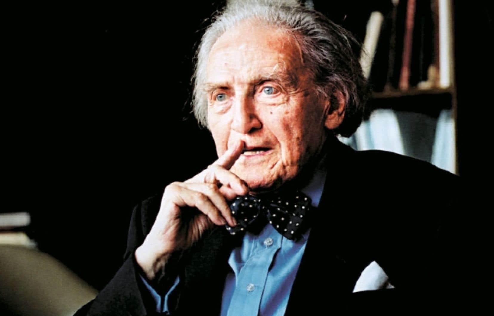 Raymond Klibansky en 2002