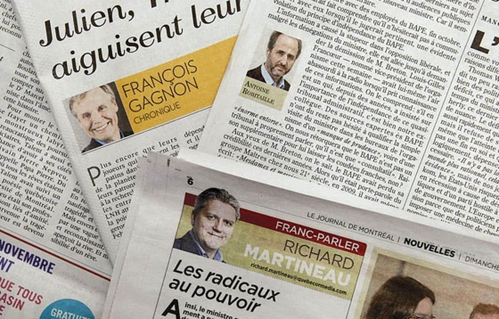 L'analyse du temps d'antenne et de la production écrite de 34 chroniqueurs dans les médias du Québec a été réalisée entre le 1er février et le 30 avril 2012, soit en plein conflit étudiant.