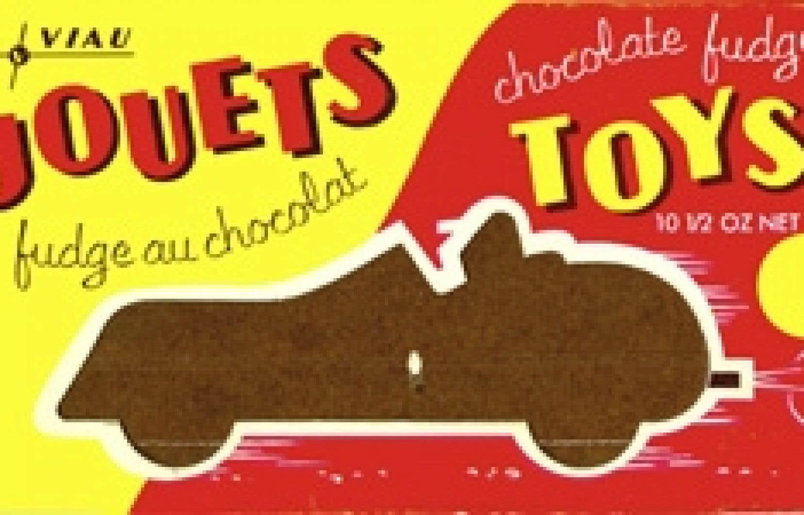 Boîte de chocolats Jouets, vers 1965.