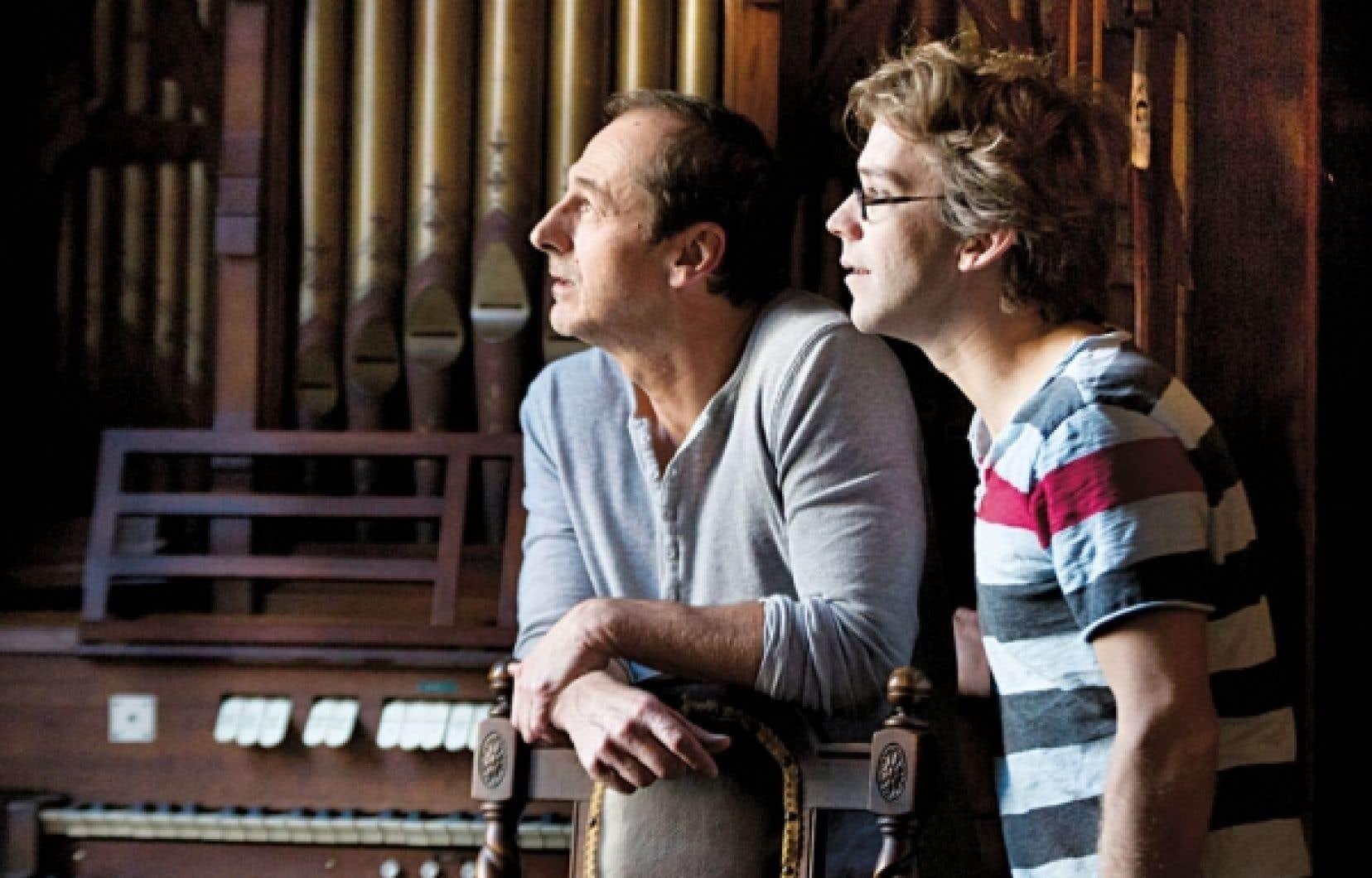 <div> Ésimésac, de Fred Pellerin et Luc Picard, prendra l'affiche sur 80 écrans du Québec.</div>