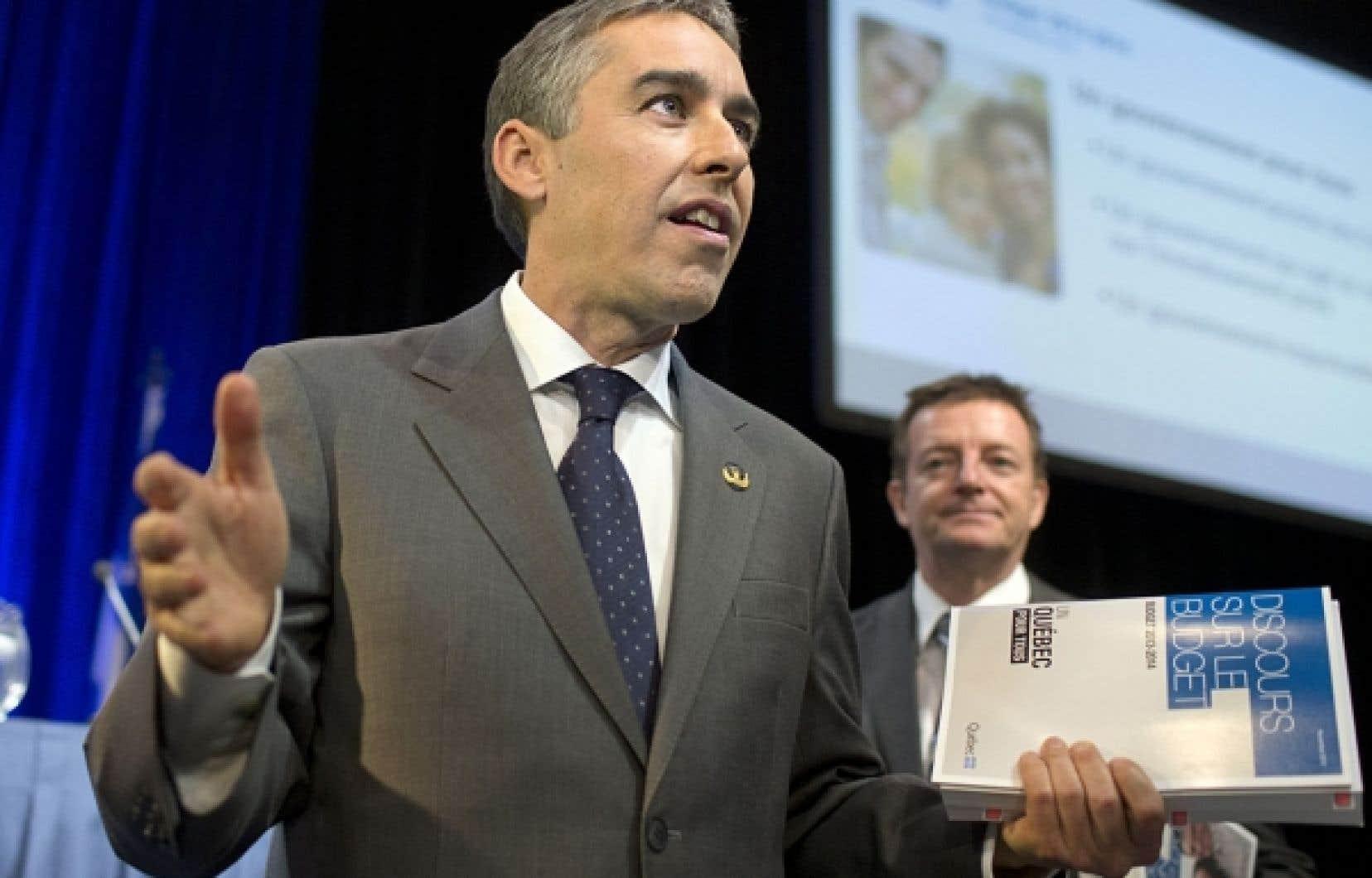 Le taux de réception du budget du ministre Nicolas Marceau est en fait très semblable au taux de satisfaction global que récolte le gouvernement Marois.