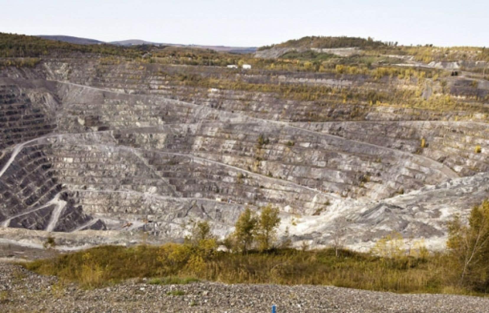 La mine Jeffrey était la dernière mine d'amiante du Canada.