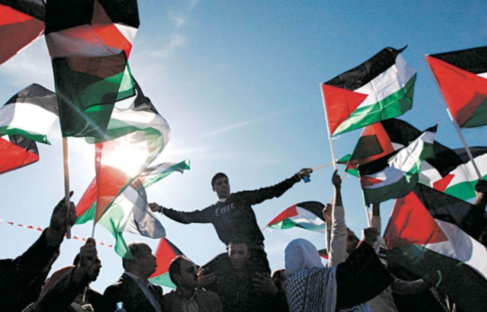 Des Palestiniens ont célébré ce week-end dans les rues de Ramallah, en Cisjordanie, la résolution faisant de la Palestine un État observateur à l'ONU.