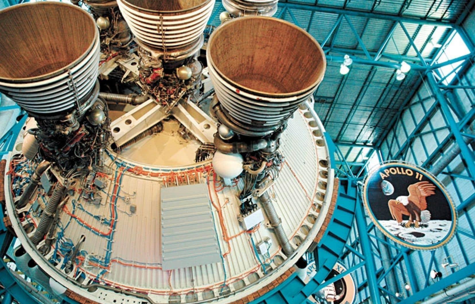 Le programme Apollo qui a envoyé un premier homme sur la Lune, représente certes une période charnière de la conquête de l'espace du Centre spatial Kennedy.