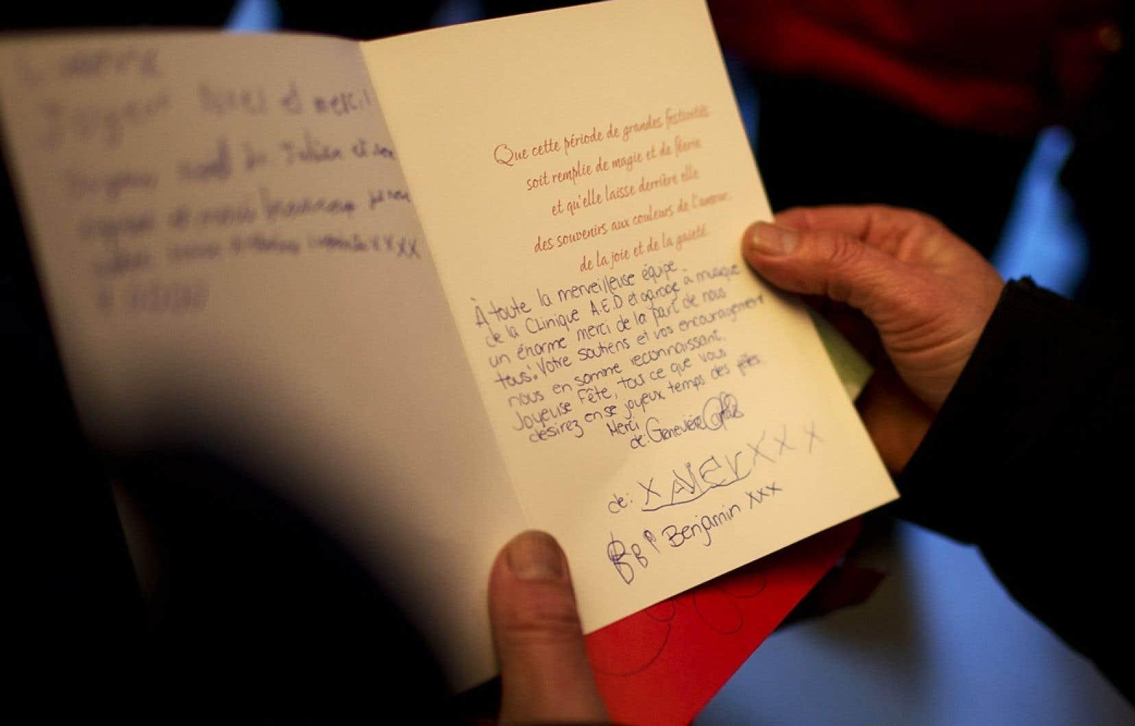 À la 10e édition de sa Guignolée visant à amasser des fonds pour apporter un peu de répit aux enfants défavorisés et à leur famille, le docteur Gilles Julien reçoit de touchants témoignages...