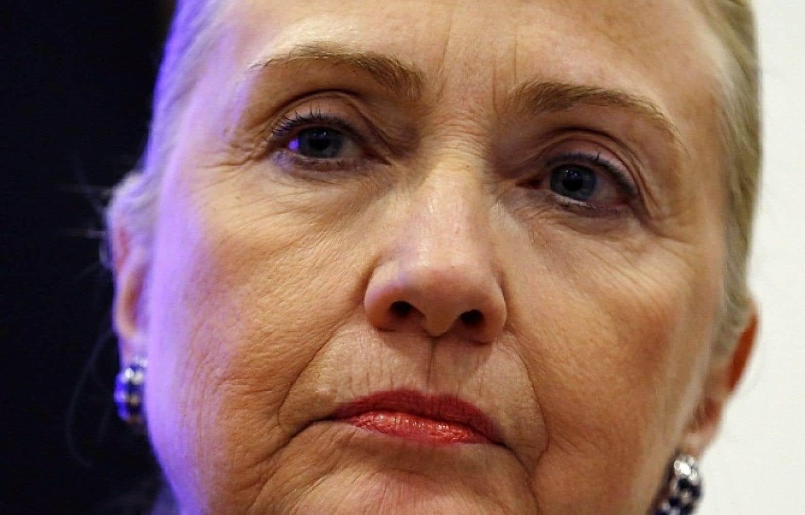 La secrétaire d'État américaine, Hillary Rodham Clinton