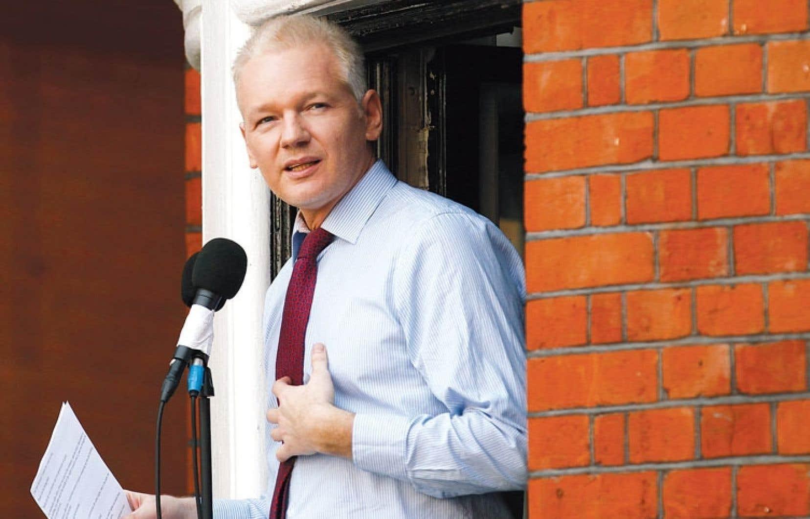 Le cyberactiviste australien Julian Assange demeure le porte-parole le plus connu de WikiLeaks.