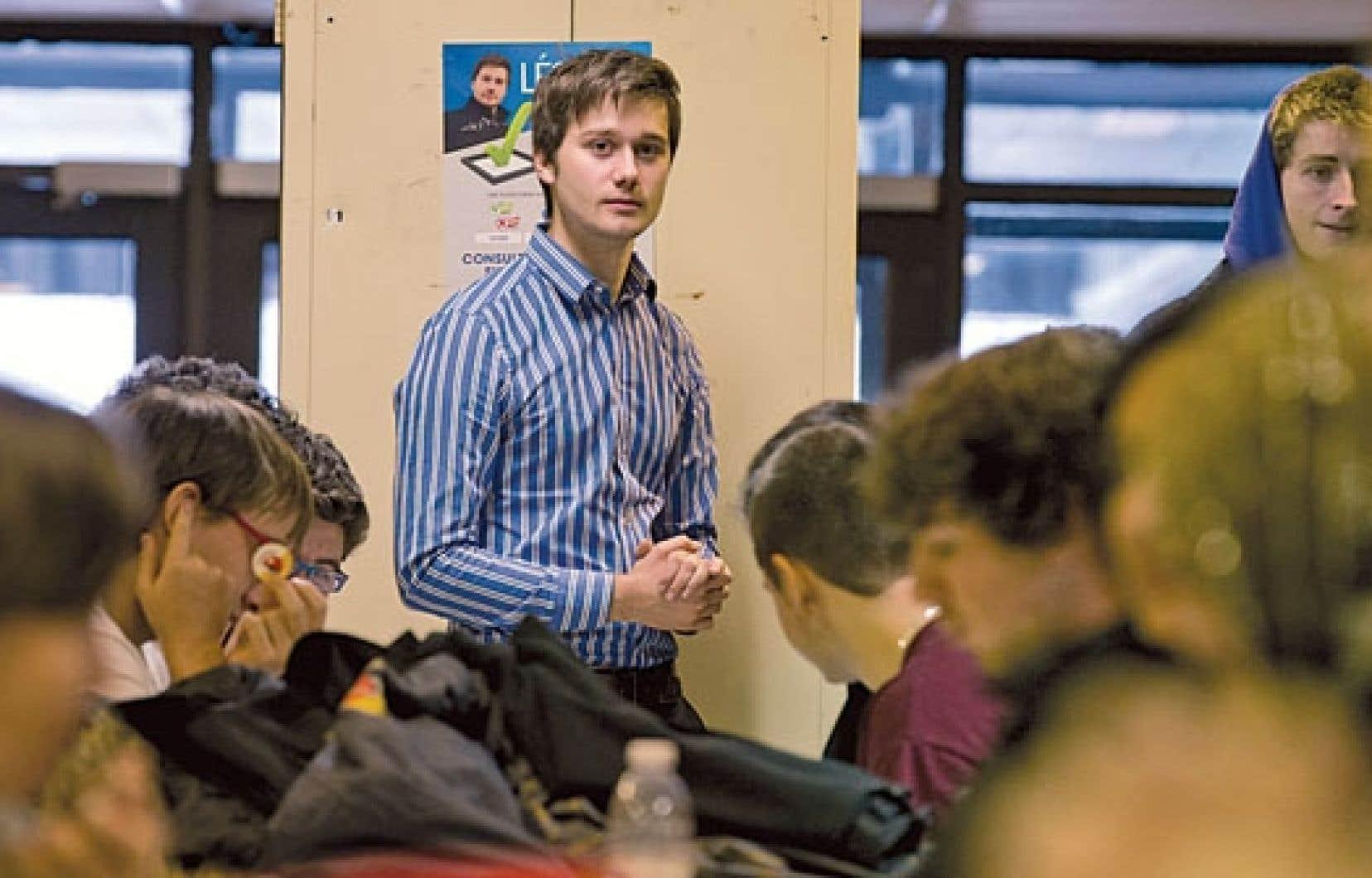La plateforme lancée par le député de Laval-des-Rapides, Léo Bureau-Blouin, propose pour l'instant aux citoyens de se prononcer sur différents enjeux de société.