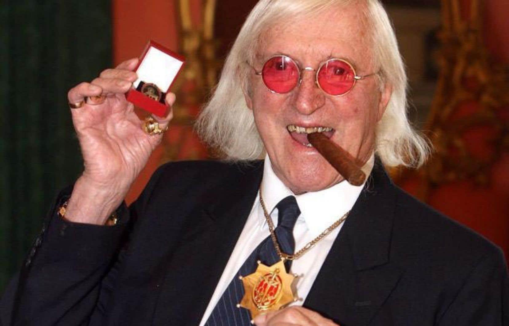 L'ancien animateur vedette de la BBC, Jimmy Savile
