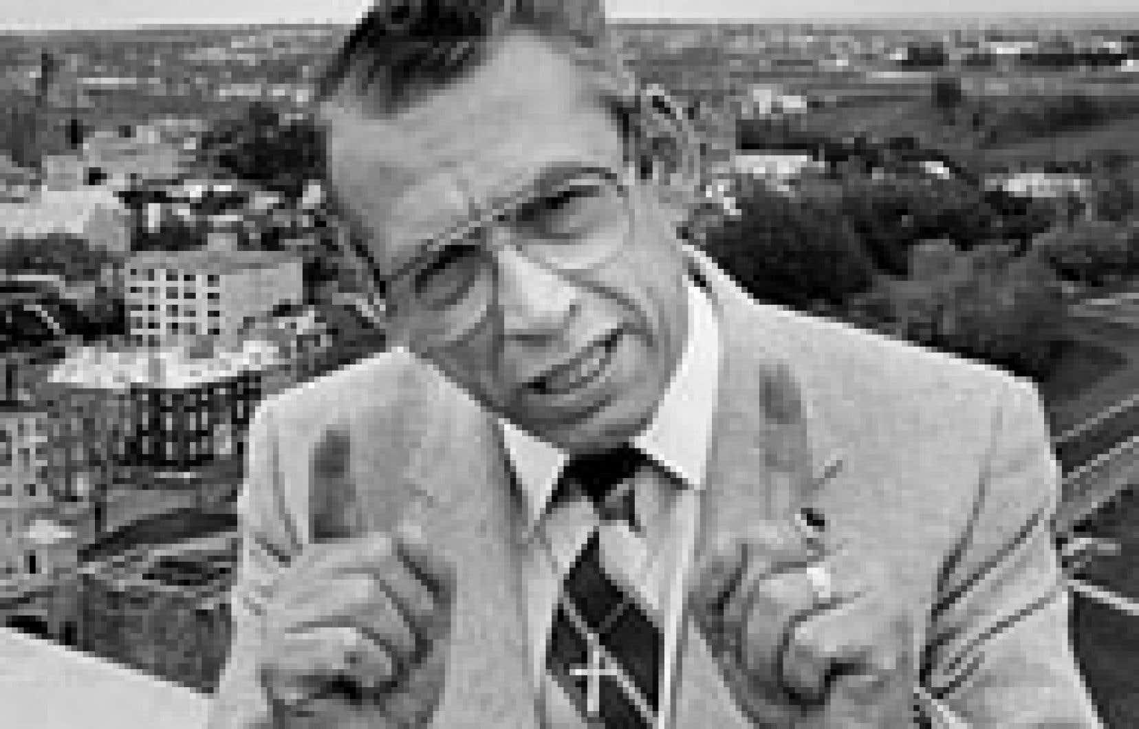 Camil Samson à Québec en 1982