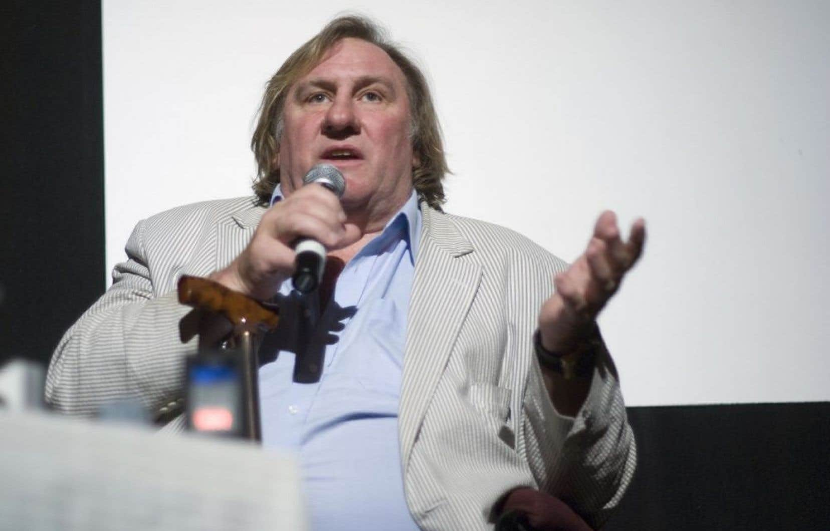 Gérard Depardieu, en 2010.<br />