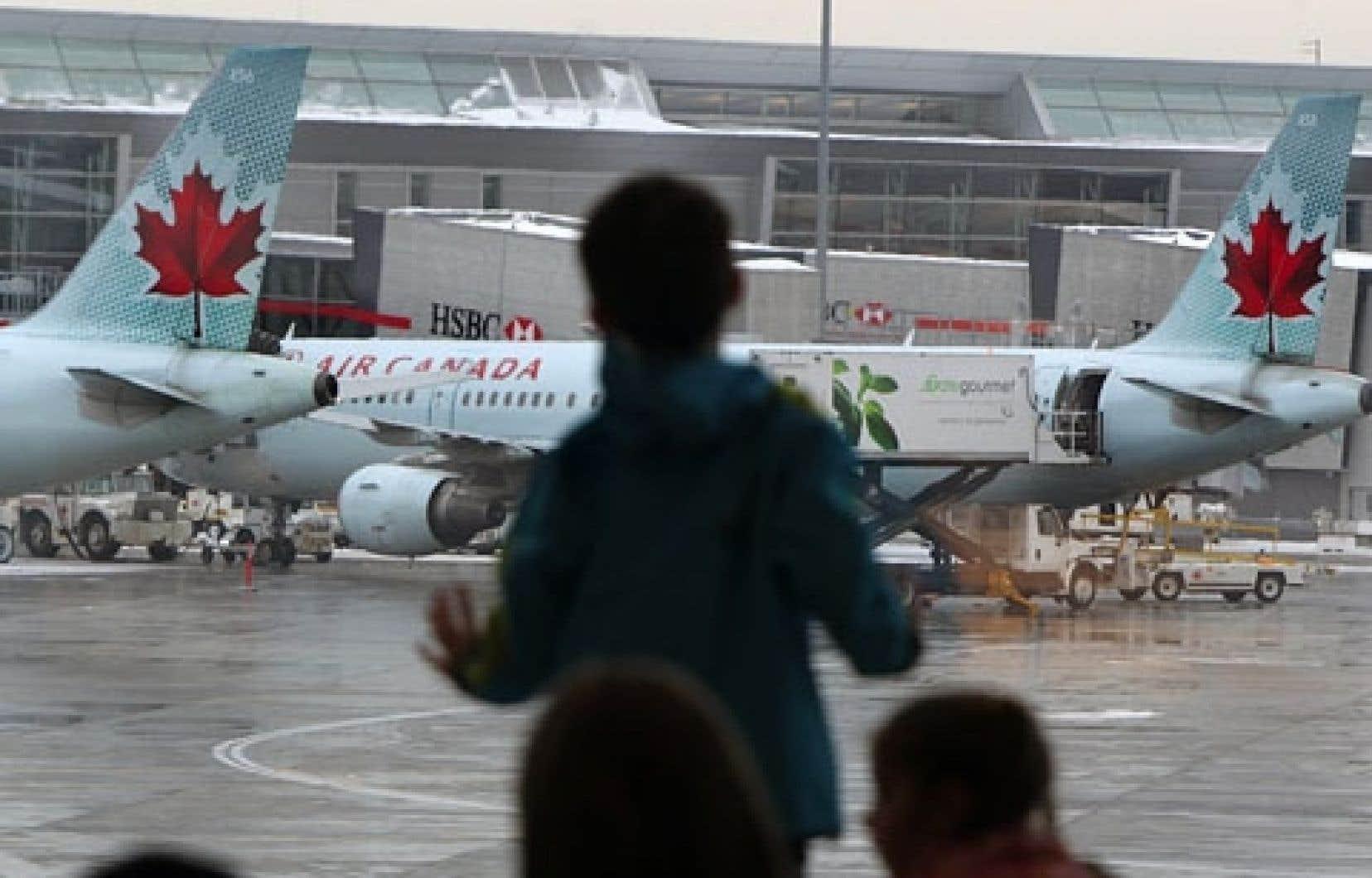 Le trafic passager d'Air Canada a augmenté de 2,7 % sur les liaisons canadiennes entre 2011 et 2012.