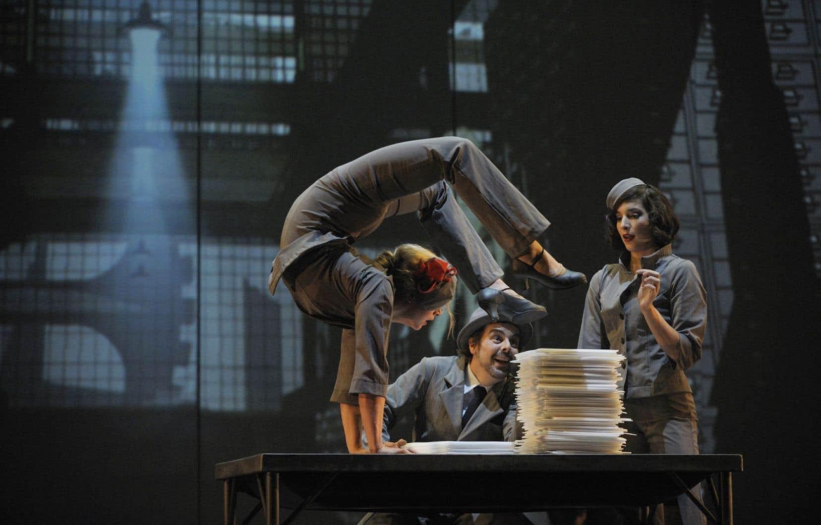 Il faudra patienter à l'automne pour découvrir Cirkopolis, la nouvelle production du Cirque Éloize.