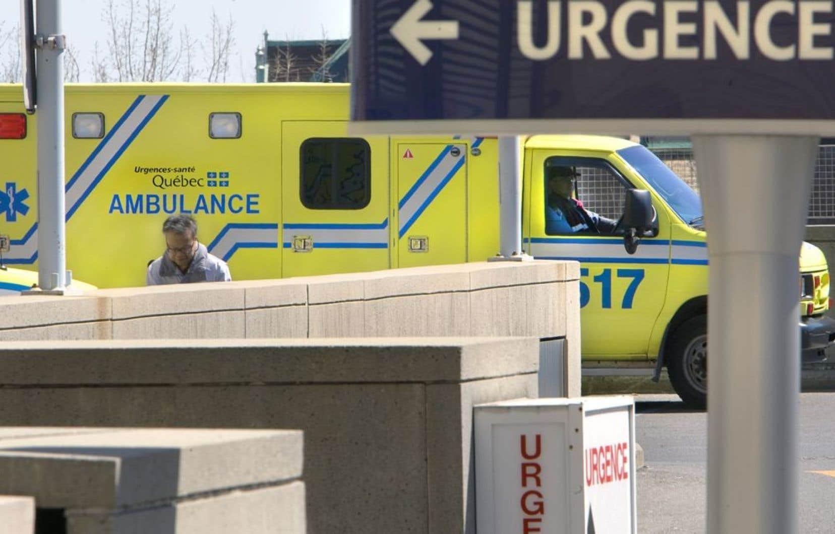Chaque année, les hôpitaux montréalais conjuguent avec un fort achalandage au cours de la périodes des Fêtes, mais cette année, ce volume important se maintient.