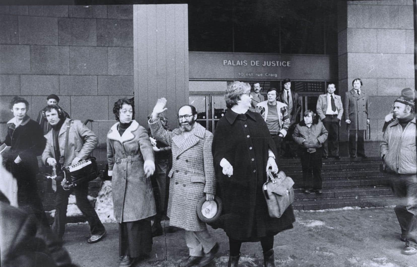 Le 20 janvier 1976, la Cour d'appel du Québec maintient l'acquittement du docteur HenryMorgentaler, qui était accusé d'avortement illégal.