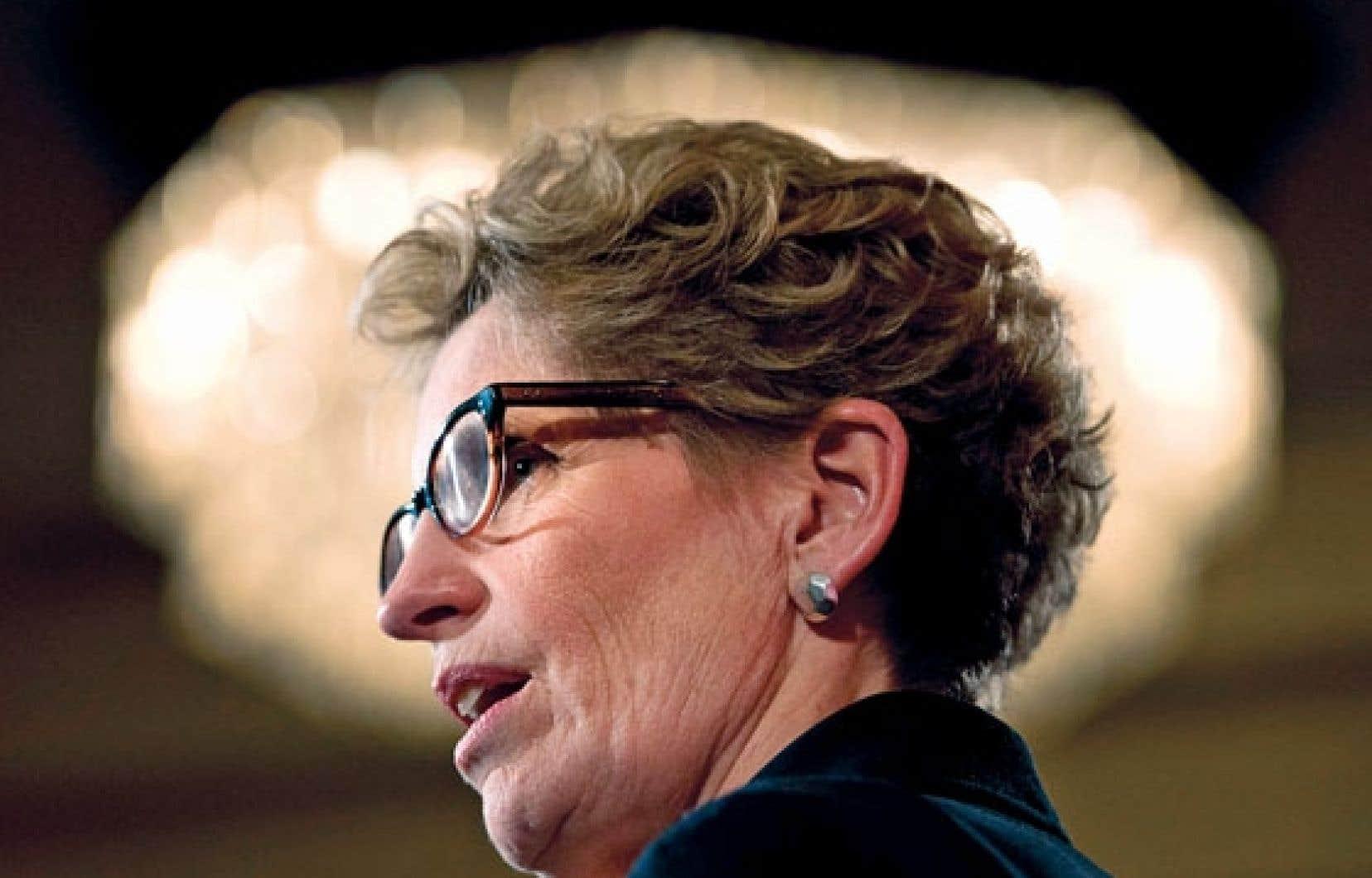 Kathleen Wynne a été élue chef du Parti libéral de l'Ontario samedi.