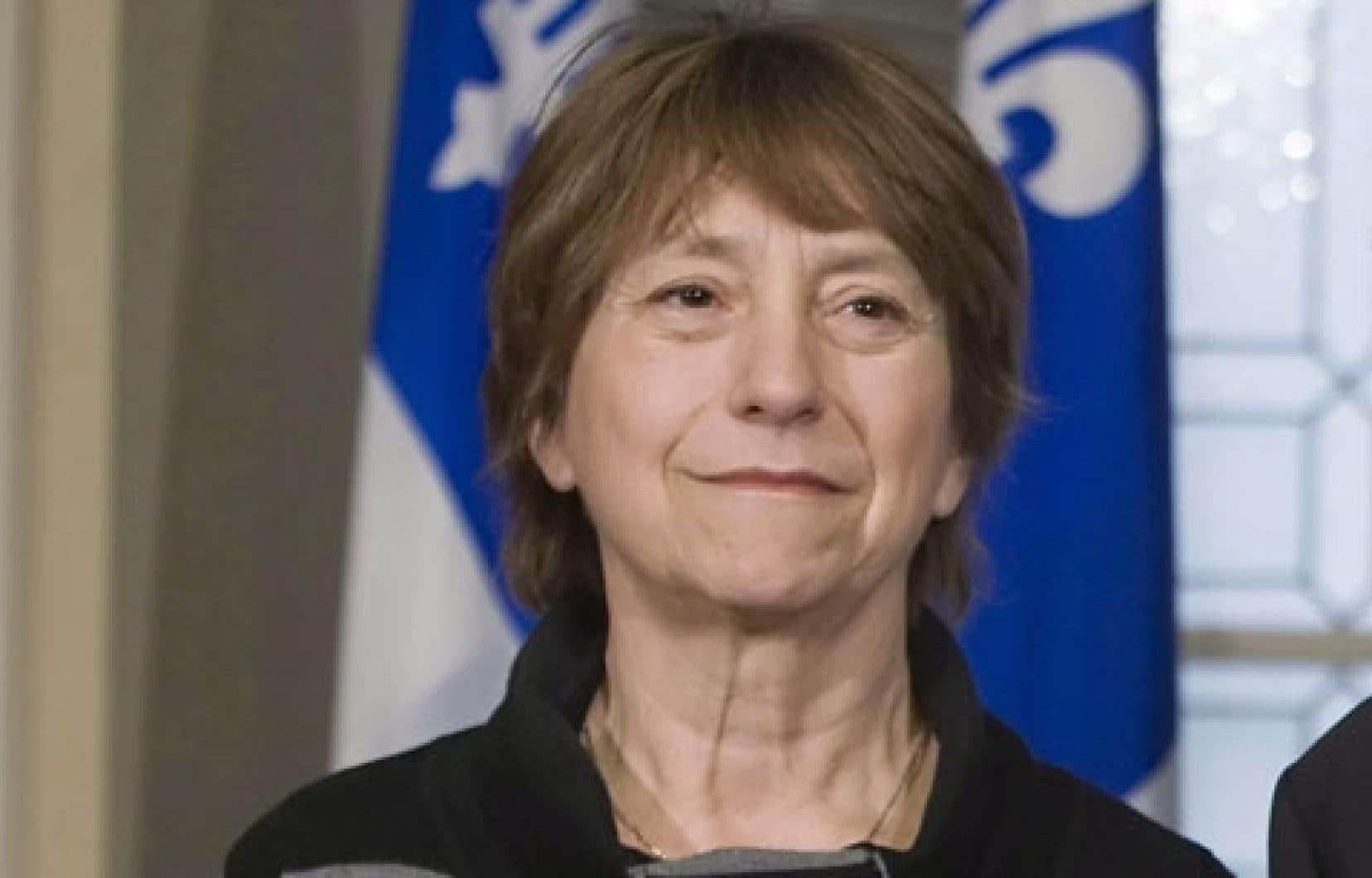 La chef de Québec solidaire, Françoise David