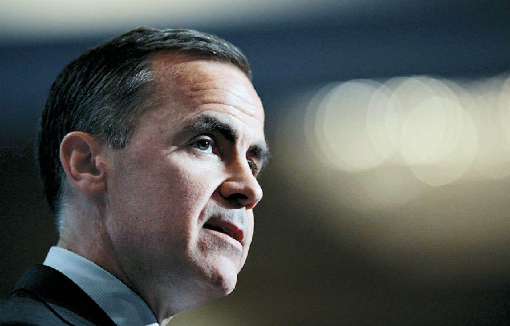 Après le Forum économique de Davos, Mark Carney s'est arrêté à Zurich pour parler au nom du Conseil de stabilité financière.