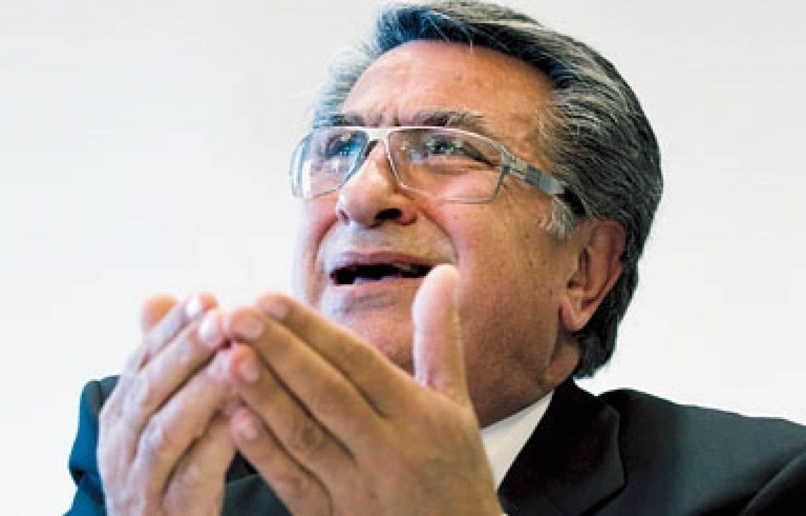 Robert Abdallah est l'ancien directeur général de la Ville de Montréal.