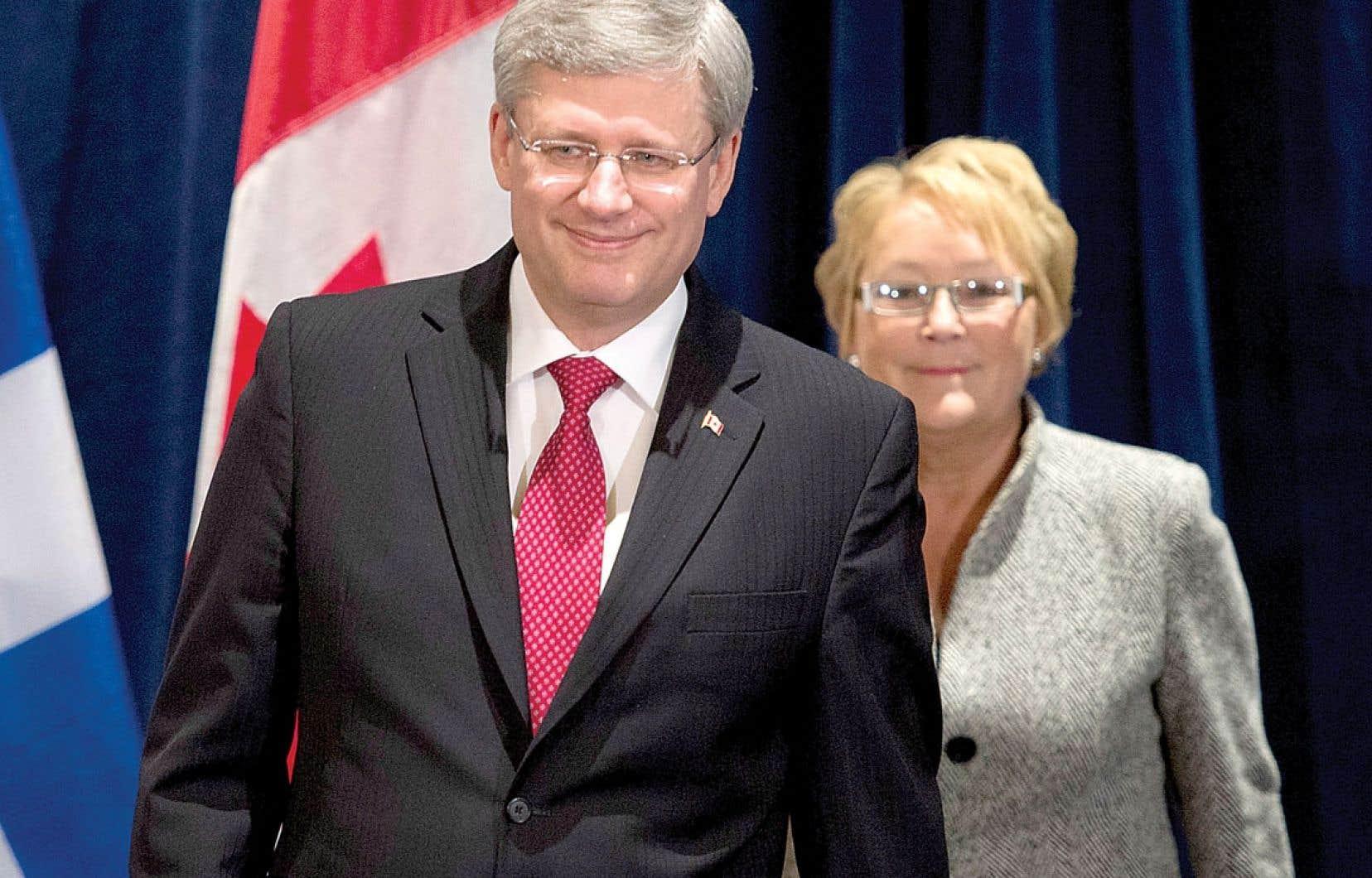 De passage à Lévis vendredi, où il a rencontré la première ministre Pauline Marois, M. Harper a rappelé que l'assurance-emploi «est une compétence clairement fédérale, selon la Constitution canadienne. Nous avons l'intention de respecter cette compétence.»