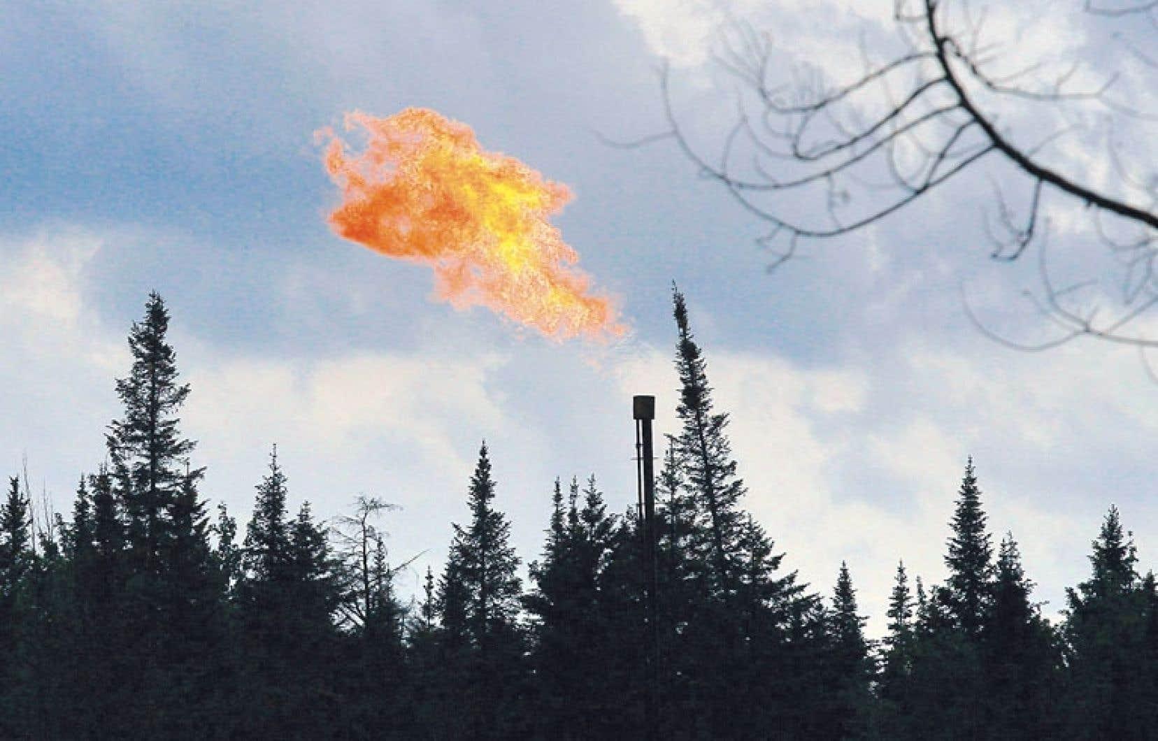 Une évaluation environnementale stratégique de l'industrie du gaz de schiste lancée par le gouvernement précédent est en cours.