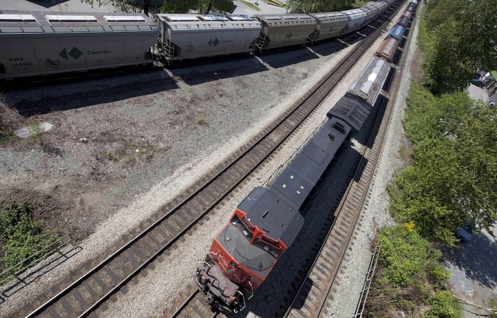 Le CN a récemment interrompu l'étude de faisabilité et l'évaluation environnementale du tracé afin d'évaluer les « échéanciers » des travaux d'exploitation de fer des sociétés minières.