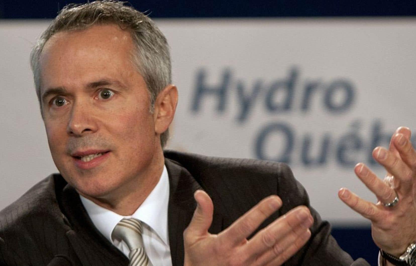 M. Vandal a soutenu que sans ces décisions gouvernementales, Hydro-Québec aurait respecté ses cibles de consommation.