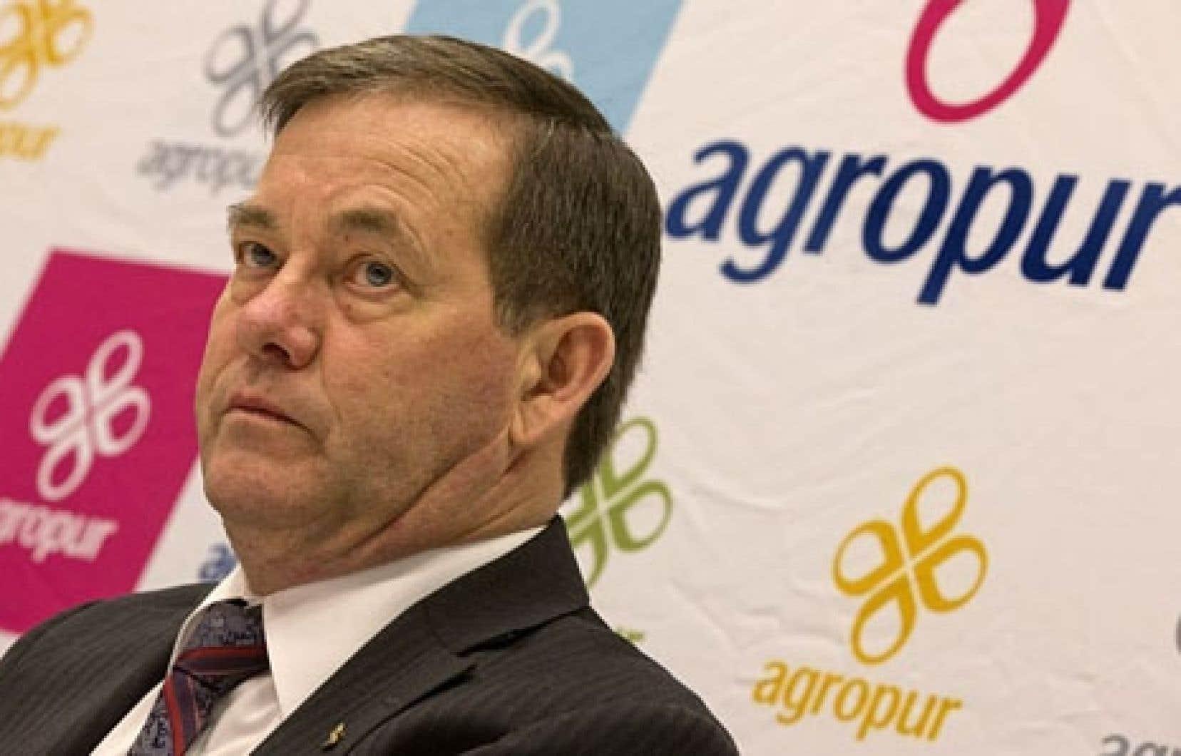 Le président du conseil d'administration d'Agropur, Serge Riendeau