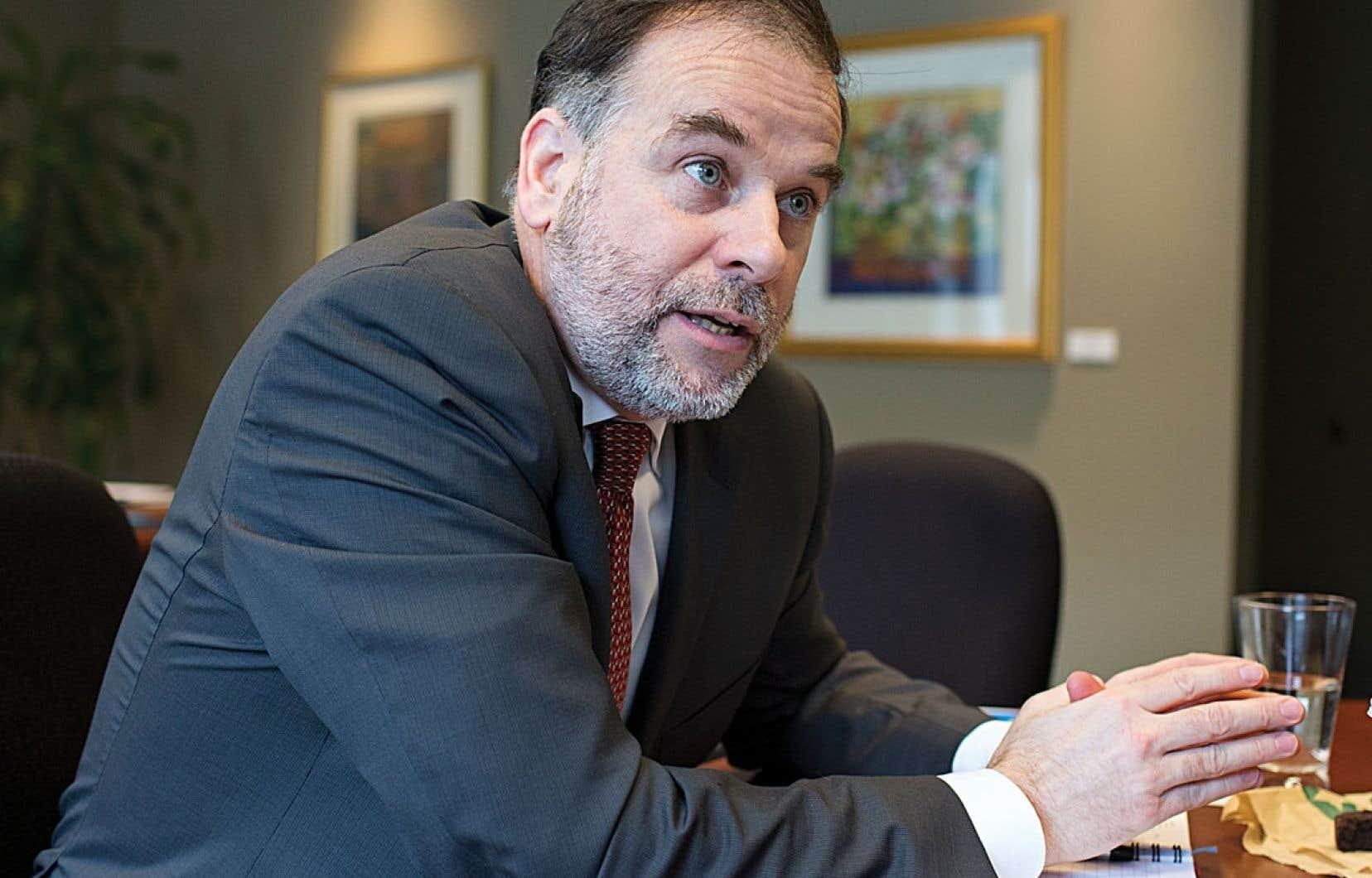 <div> « C'est pas moi qui veux une décision sur les droits de scolarité, c'est ce que les Québécois nous demandent », explique Pierre Duchesne.</div>