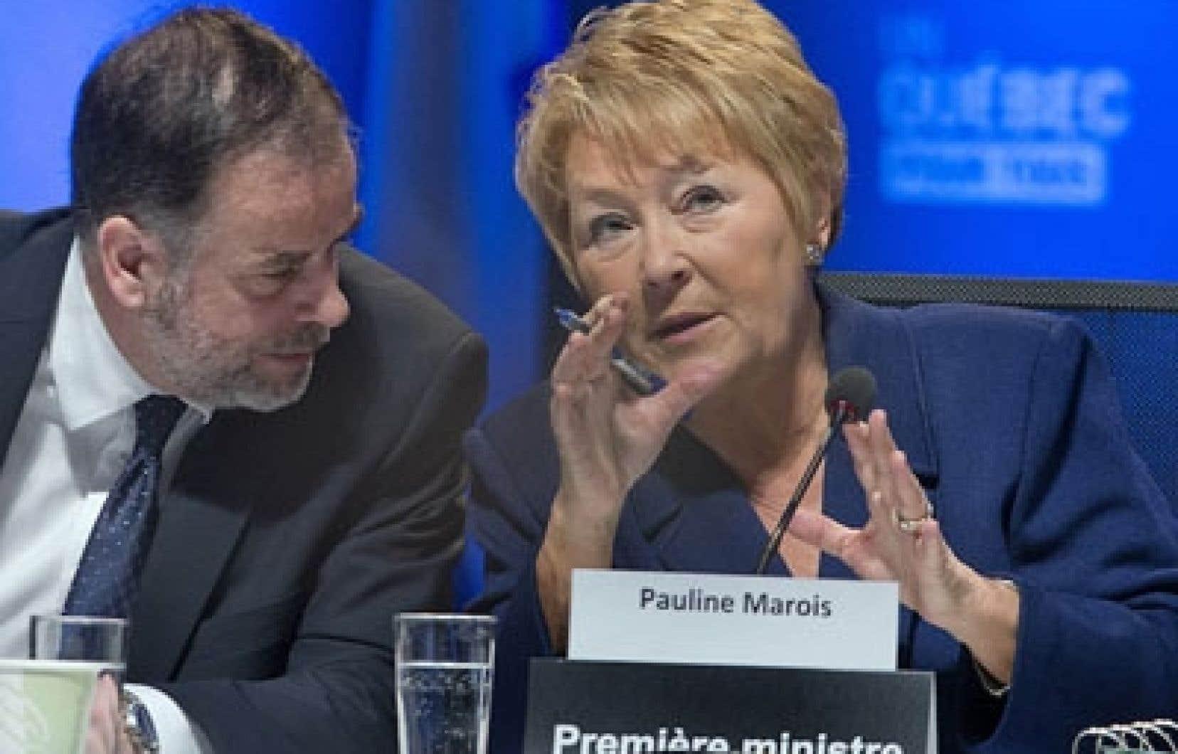 «Il n'y a pas de perdants ici aujourd'hui», a commenté la première ministre Pauline Marois en clôture du Sommet sur l'enseignement supérieur