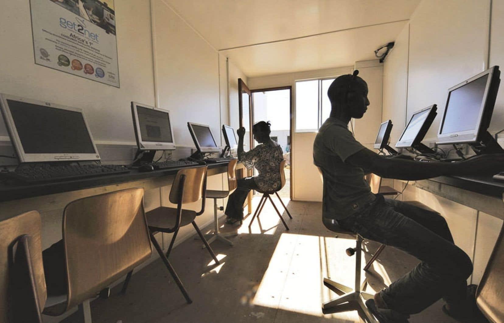 L'Agence universitaire de la francophonie (AUF) a des partenaires dans plusieurs pays africains.