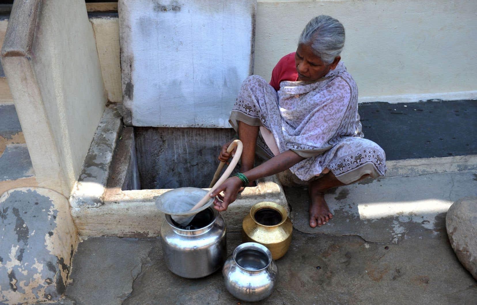 <div> En Inde, 60 millions de personnes pourraient un jour souffrir de la fluorose osseuse et six millions en seraient handicap&eacute;es.</div>