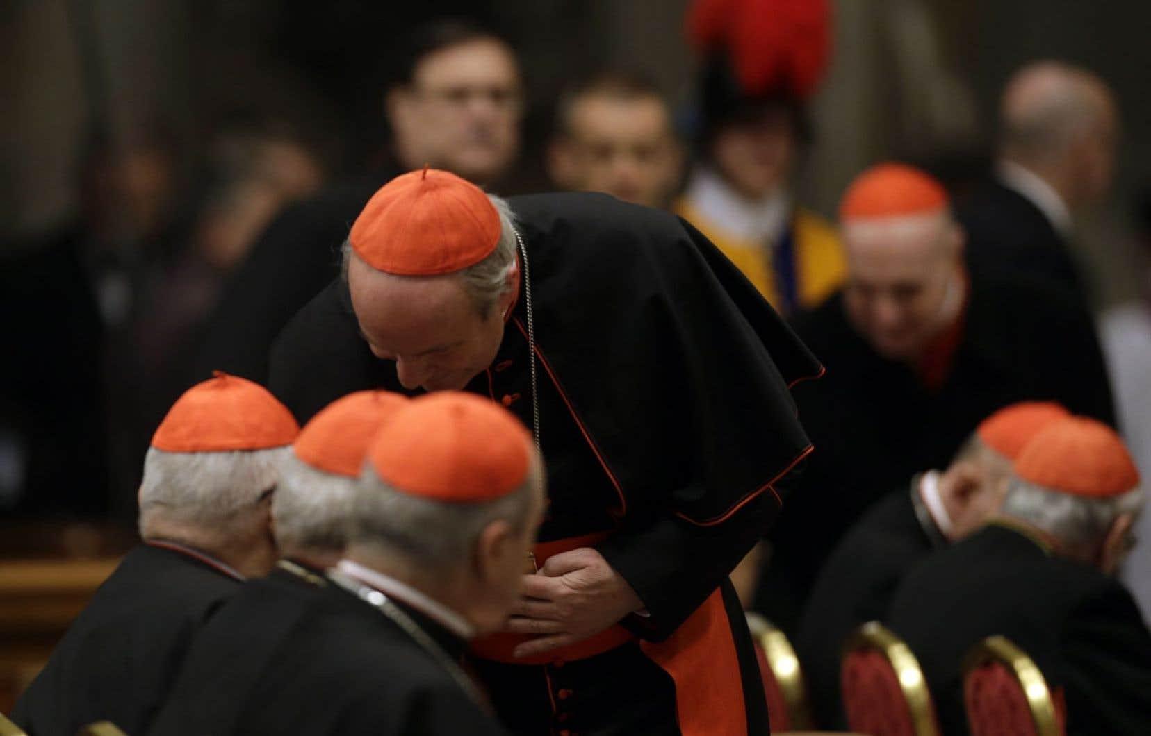 Les cardinaux sont réunis en Congrégation générale depuis lundi dernier pour discuter des problèmes de l'Église.
