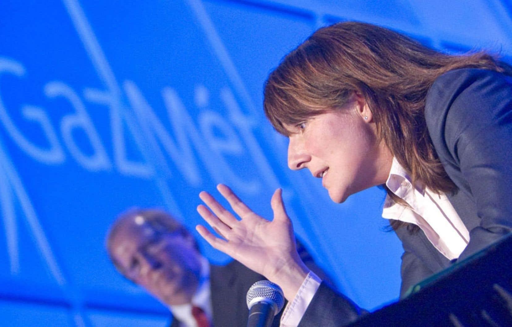 La présidente-directrice générale de Gaz Métro, Sophie Brochu.