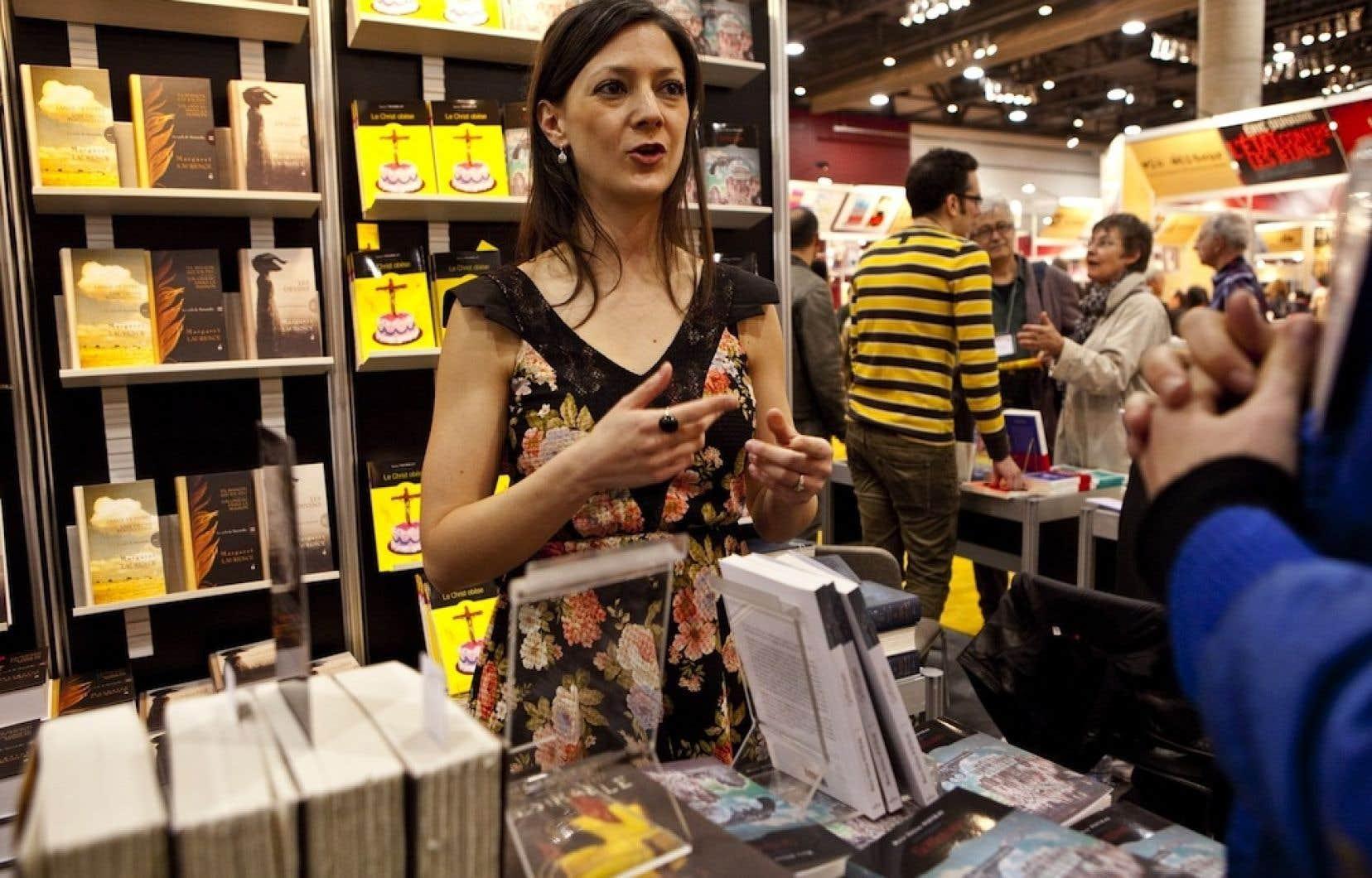 Marie Hélène Poitras avait remporté le prix Anne-Hébert pour son premier roman, Soudain le Minotaure (2002). Son plus récent roman, Griffintown (Alto), se veut un « western spaghetti sauce urbaine » se déroulant dans ce secteur de Montréal.