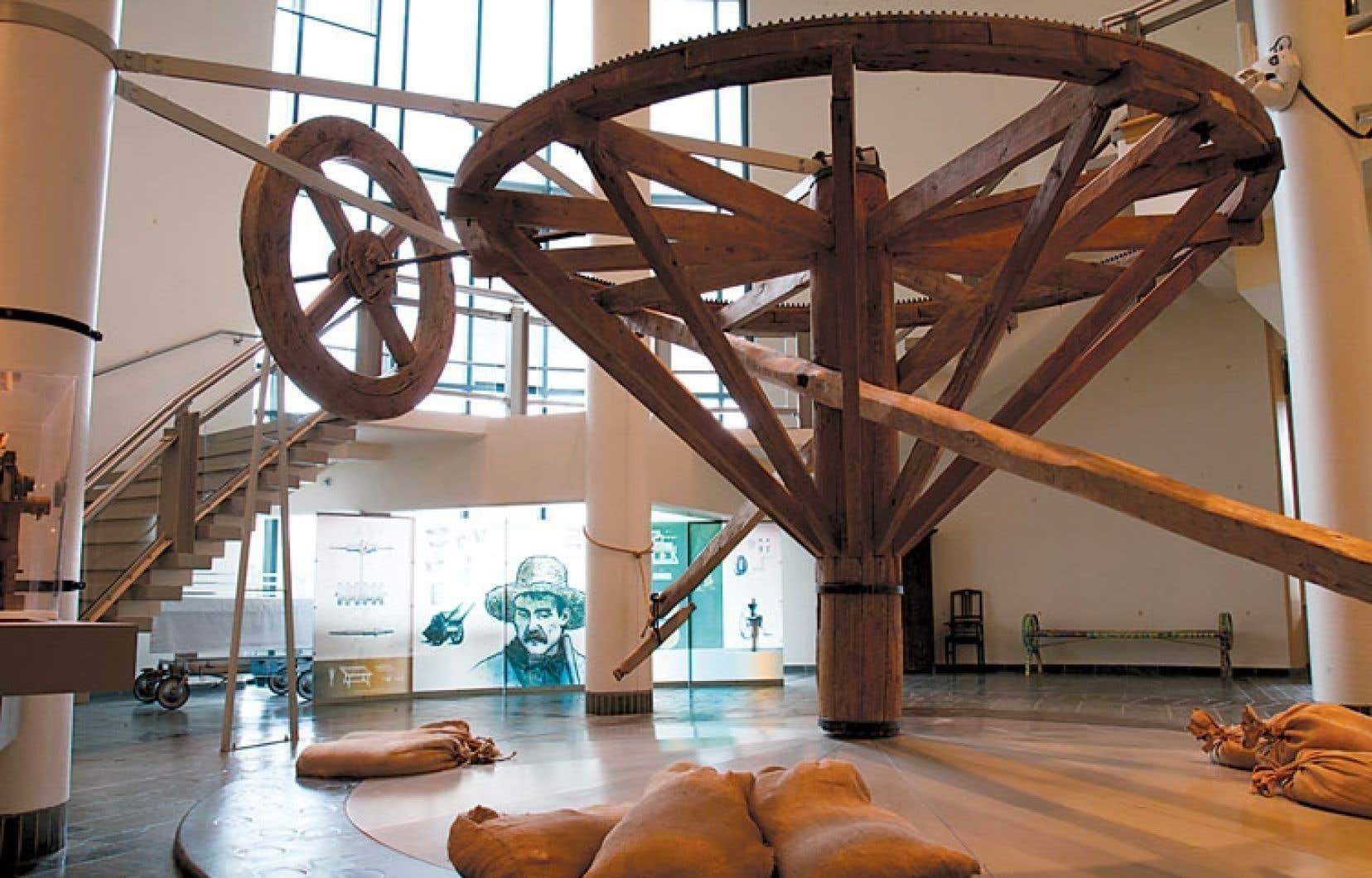Plusieurs artefacts témoignant de la vie agricole sont exposés à Trois-Rivières.
