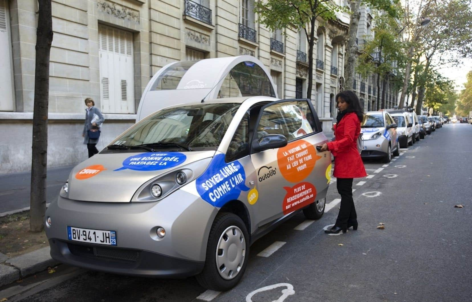 <div> Le service de voitures en libre-service est implanté ailleurs dans le monde, dont à Paris.</div>