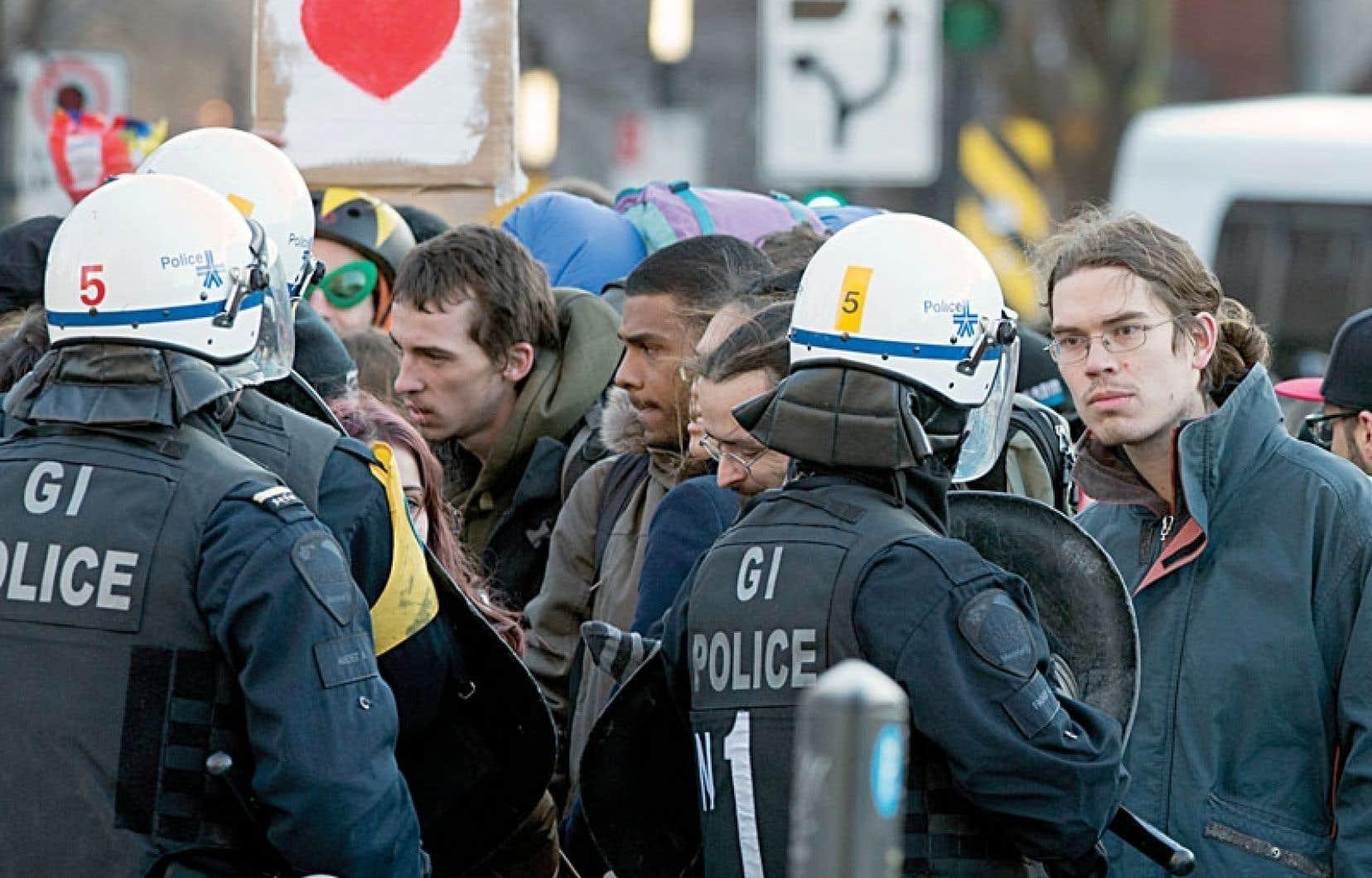 Ce sont 279 manifestants qui ont été interpellés par les policiers vendredi soir.