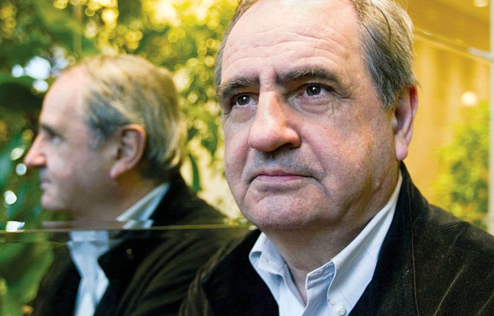 L'historien Pierre Rosanvallon, titulaire de la chaire d'Histoire moderne et contemporaine du politique du Collège de France.