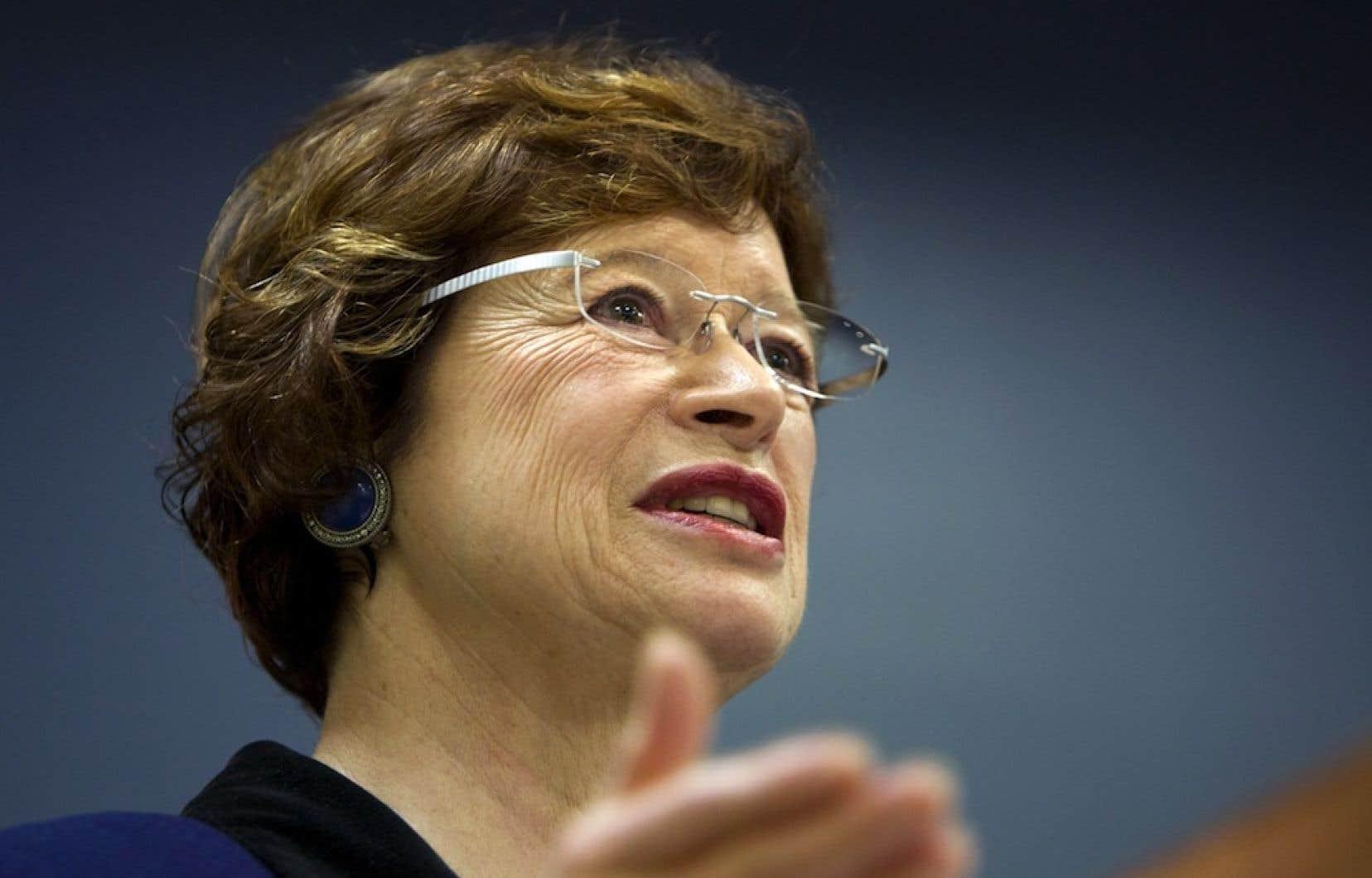 La ministre de l'Éducation, Marie Malavoy