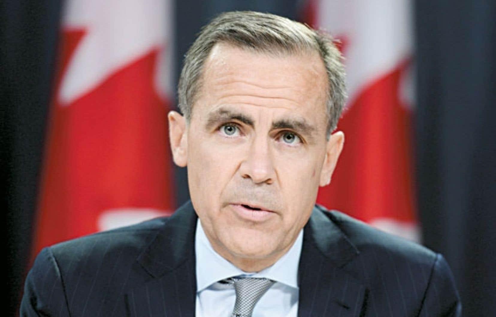Le gouverneur de la banque centrale, Mark Carney, a cependant expliqué que l'institution refusait de mordre à l'hameçon du pessimisme de certains observateurs.