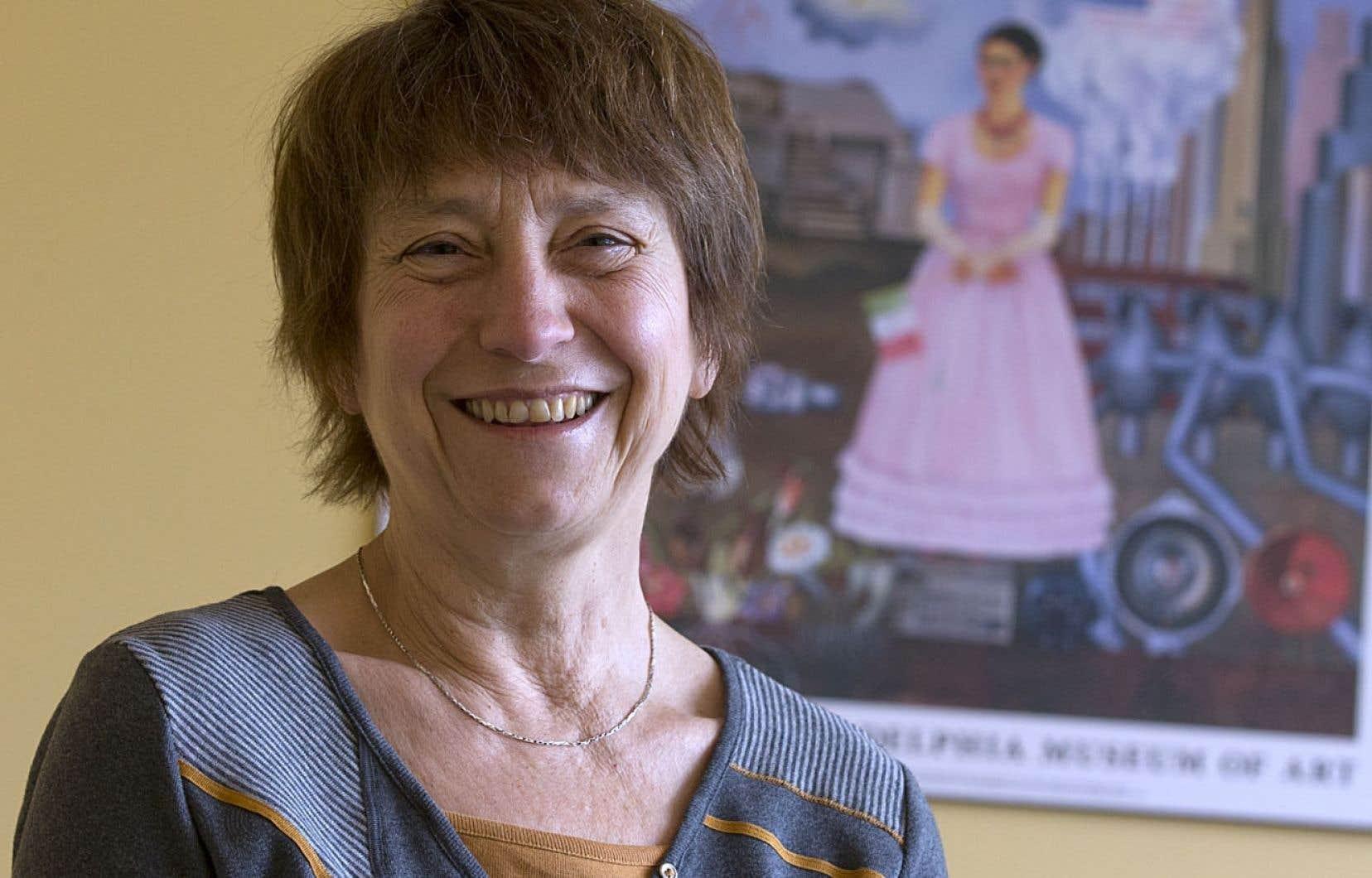 Françoise David, coporte-parole de Québec solidaire, imagine de plus en plus mal comment son parti pourrait faire alliance avec celui de Pauline Marois.