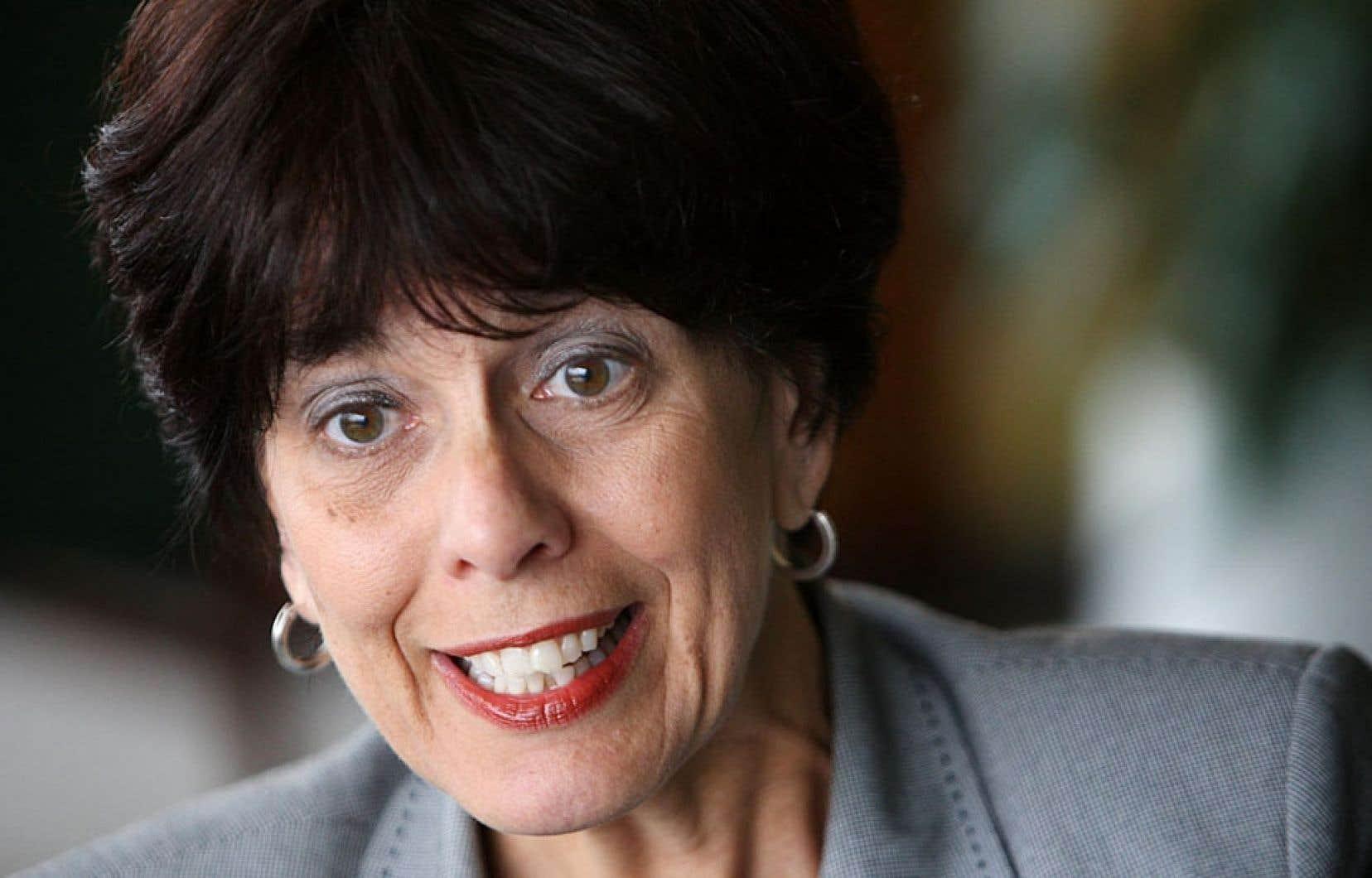 L'ancienne ministre libérale responsable de la région de Laval, Michelle Courchesne