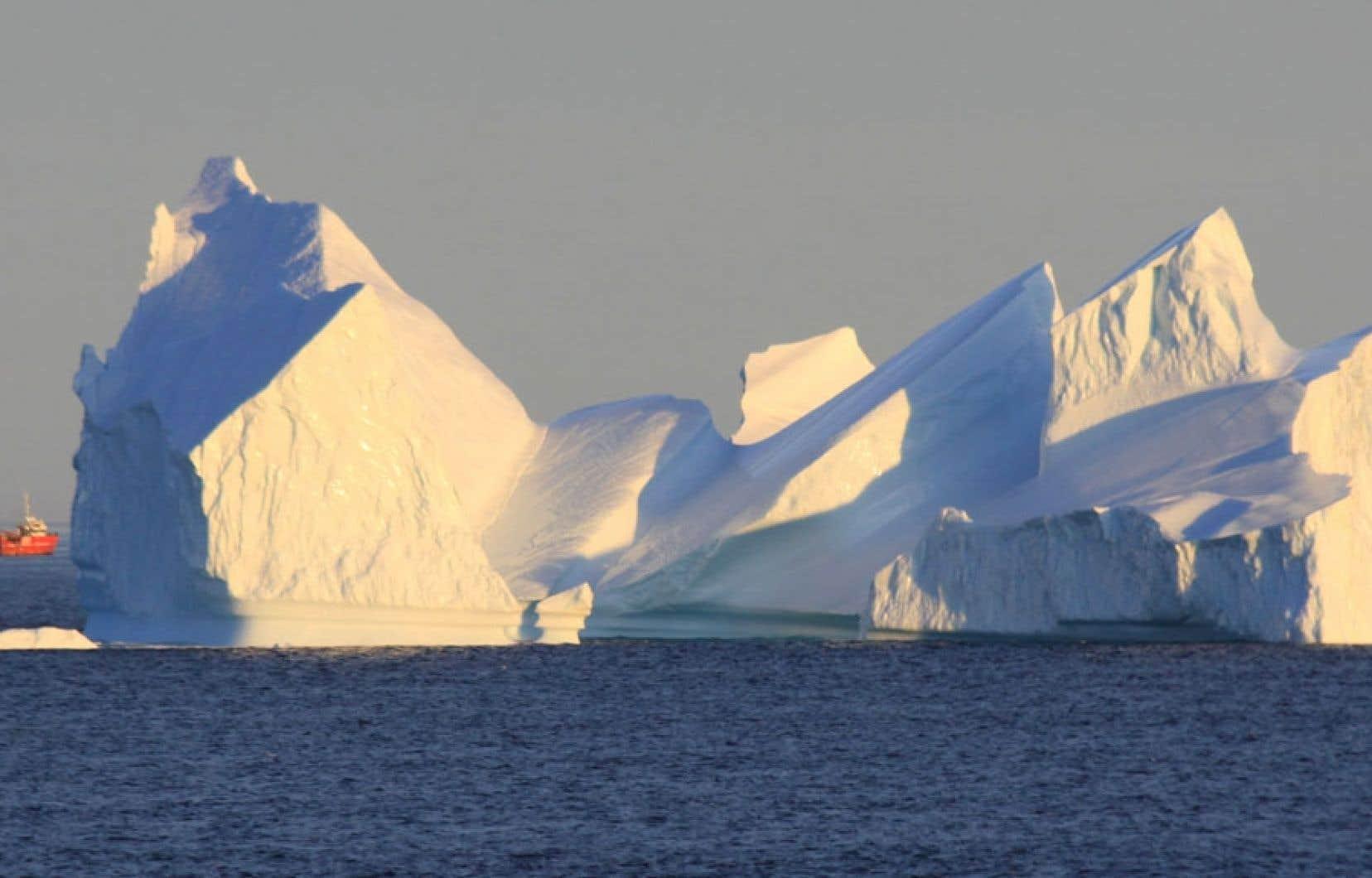 Le Grand Nord, une pépinière d'icebergs.