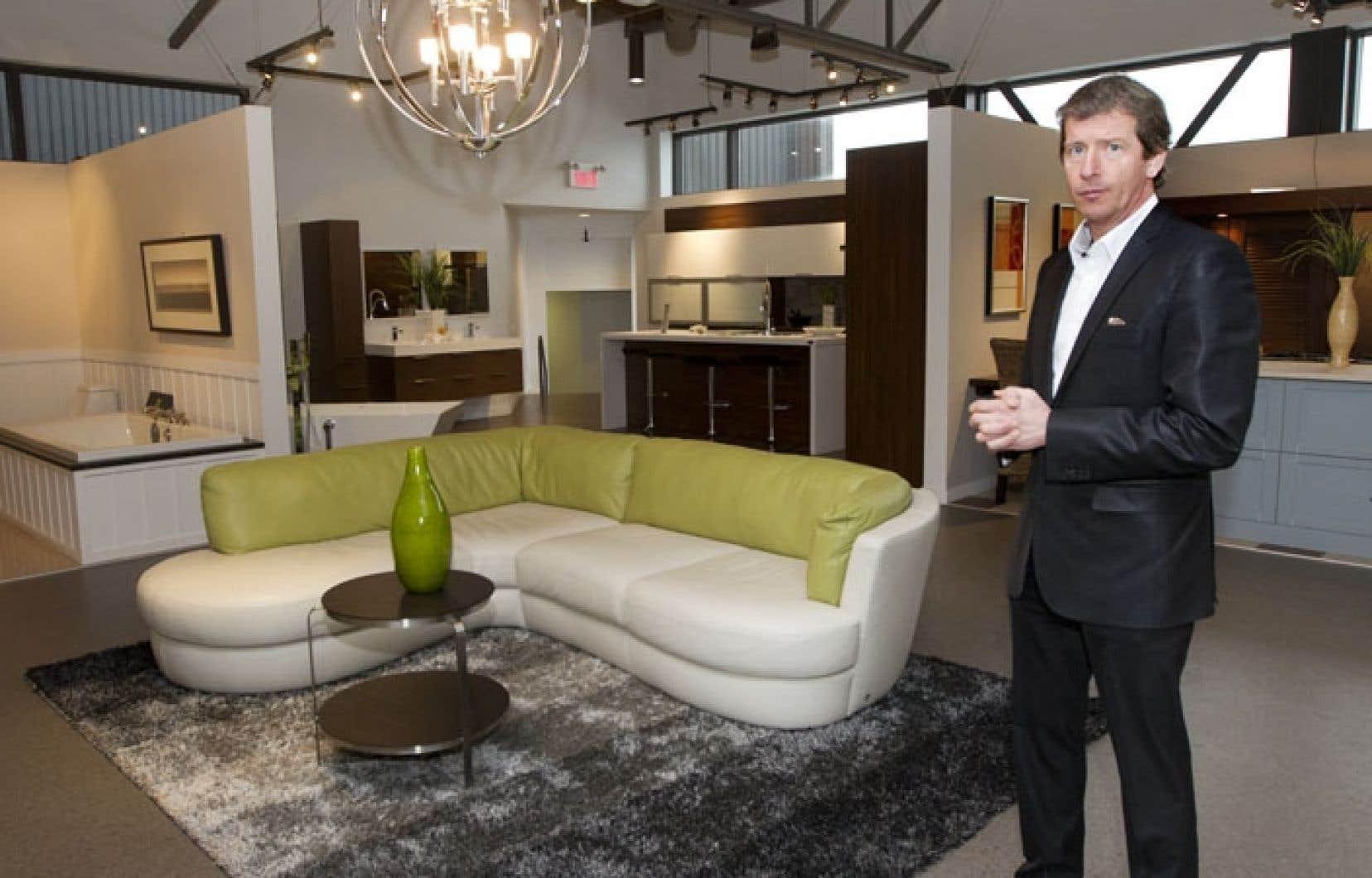 Selon Dany Bonneville, l'objectif des Industries Bonneville est maintenant de construire 1000 maisons usinées par année d'ici à trois ans.