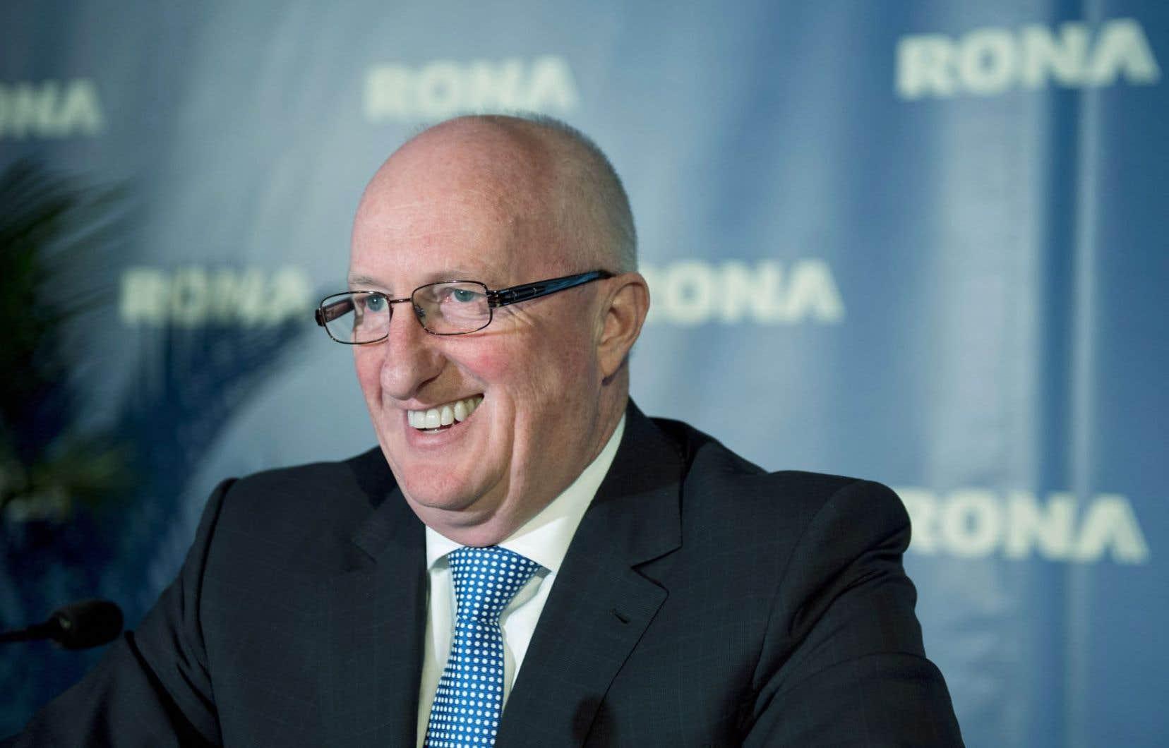 Robert Sawyer, un expert en redressement d'entreprises, était chez Metro avant d'accepter la présidence de Rona.