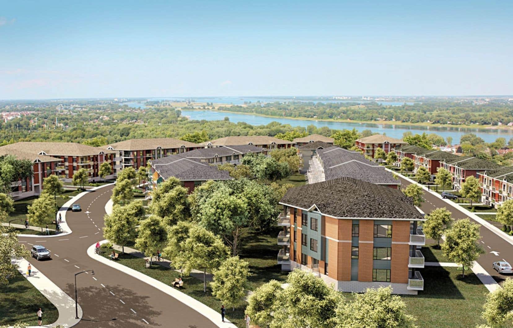 Les habitations de la phase 1 du projet de Pointe Est sont en vente en vue d'une livraison en juillet 2013.