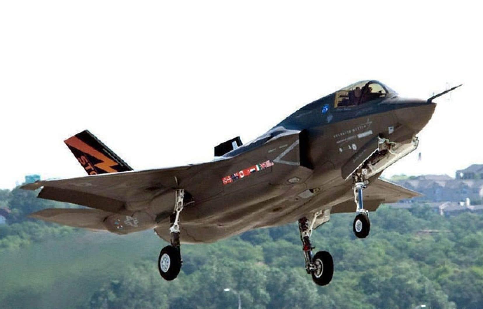 Un avion de chasse Lockheed Martin Strike Fighter F-35. Le fabriquant doit reprendre ses efforts afin de convaincre que ses appareils sont ceux qu'il faut au Canada.